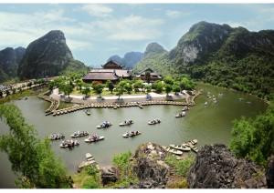 Trang An – Bai Dinh Pagoda One Day tour: 32 USD/ pax
